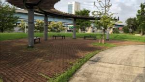 夢の島緑道公園
